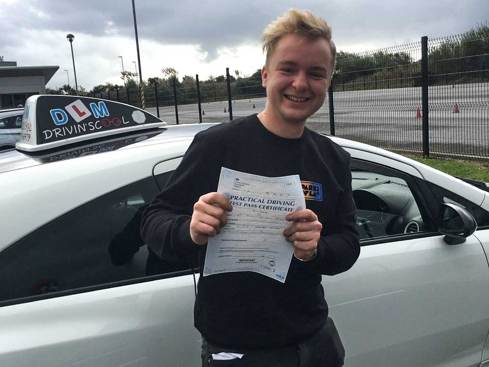 another happy learner driver